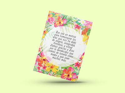 Invite Insert tropical birthday card invitations graphic design