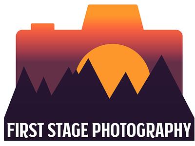 First Stage Photography Logo branding design logo graphic design