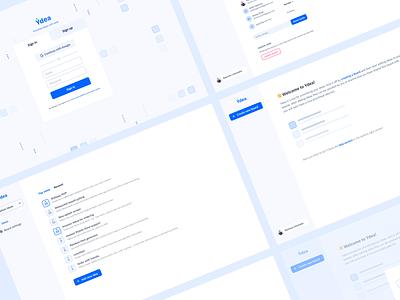 Ydea webapp web design ux ui honeydew web app product design