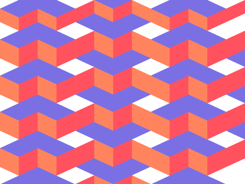 Isometric Pattern line lines logo vector illustration graphic art design