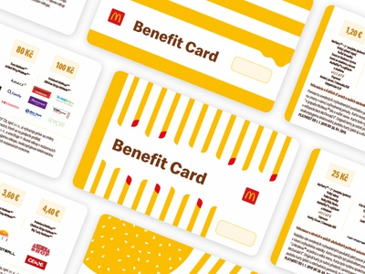 McDonald's Benefit Card