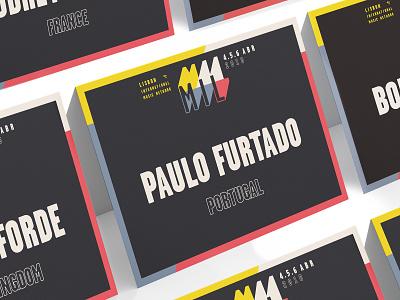 MIL Lisbon Music Festival festival live summit music icon logo vector signage design signage branding design illustration graphic art