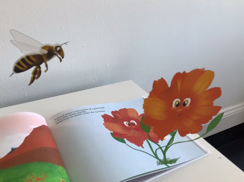 My children's book through Augmented Reality augmented reality illustration visualdesign