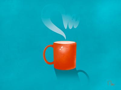 Relax procreate illustration visualdesign