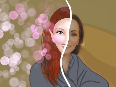 Toon me challenge visual design procreate illustration