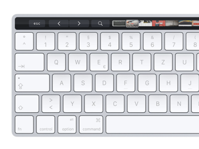 Apple Magic Keyboard with Touch Bar Concept concept magic touch bar keyboard apple design