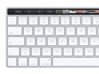Apple Magic Keyboard with Touch Bar Concept