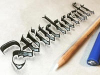 Witchcraft Blackletter