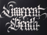 Limerent Death Blackletter