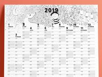 Calendar2019 total