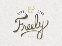 Give & Live Freely