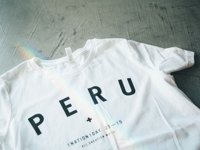 Peru 2019 Merch Item apparel tshirt art tshirt merch tshirtdesign