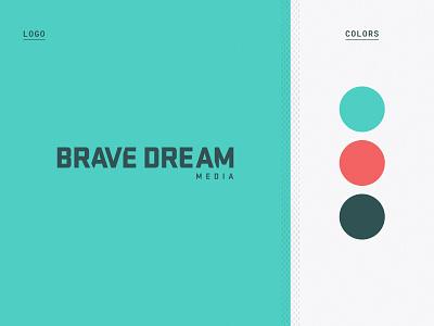 Brave Dream Logo Rework identity brand identity logo logo design branding