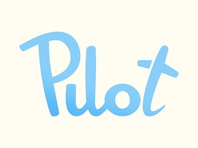 Pilot ApS brand identity logo