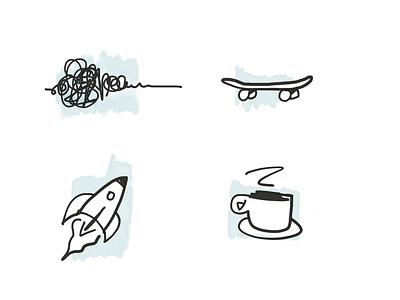 Pilot doodles