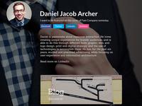 Personal Site Mockup