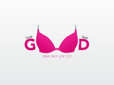look good feel good final. bra logo tshirt typography illustrator boobies