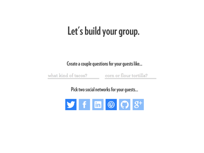 Group Building