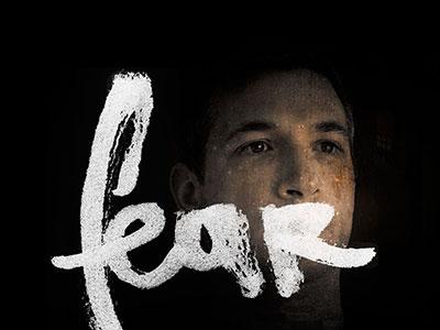 Fear lettering
