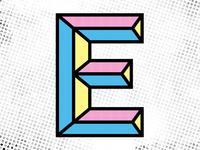 Dimensional capital E