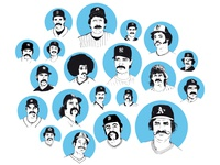 Best Mustaches in Baseball