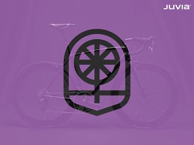 JUVIA Logo 03 geometric symbol icon branding logotype logo bike