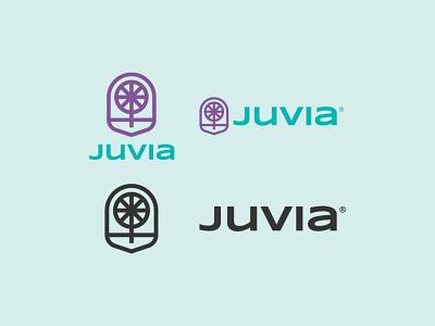JUVIA Logo 04 icon geometric identity design geometric logo logo designer logotype branding logo design bike logo