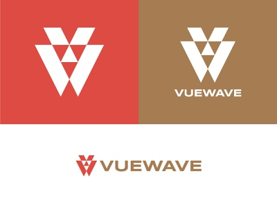 Viewave Brand Identity identity design logo designer geometric logo brand identity monogram monogram logo logo logotype branding