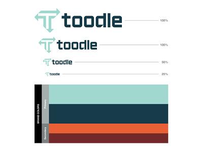 Toodle V1 Pt.03 brand colors logomark identity brand identity geometric logo identity design icon logo designer logotype branding logo