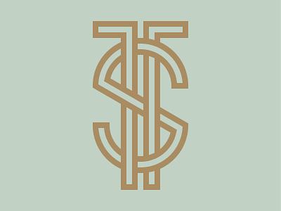 T+S logos type design monograms monogram logomark identity brand identity identity design logo designer logotype branding logo