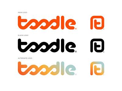 Toodle Final Pt.02 logos brand identity geometric logo logomark identity design icon logo designer logotype branding logo