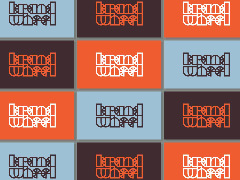 Brandwheel 02 symbol brand identity logotype bold logo geometric logo logo designer simple logo identity branding identity branding logo bike