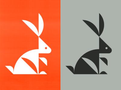 Bunny 01 logo logo designer logo maker bird logo animal logo logos branding identity design logotype best logos logomark logo grid
