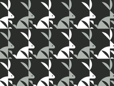 Bunny 03 pattern design logo logo designer logo maker bird logo animal logo logos branding identity design logotype logomark logo grid
