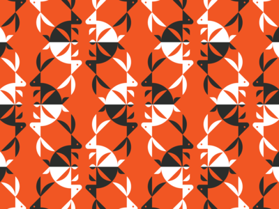 Bunny 04 logo grid logomark logotype identity design branding logos animal logo bird logo logo maker logo designer logo pattern design