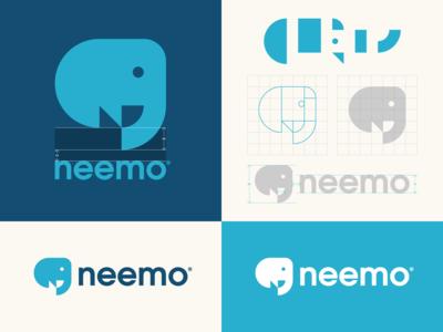 Neemo Identity logo grid logomark best logos logotype identity design branding logos animal logo bird logo logo maker logo designer logo