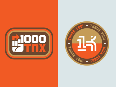 Thanks A Thousand 01 logo branding identity identity branding simple logo logo designer geometric logo monogram bold logo logotype brand identity symbol