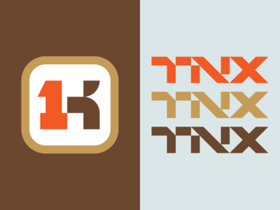 Thanks A Thousand 02 symbol brand identity logotype bold logo monogram geometric logo logo designer simple logo identity branding identity branding logo