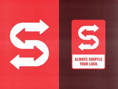 Shuffle logotypes identity bold logo logomark icon geometric logo identity design symbol geometric branding logotype logo