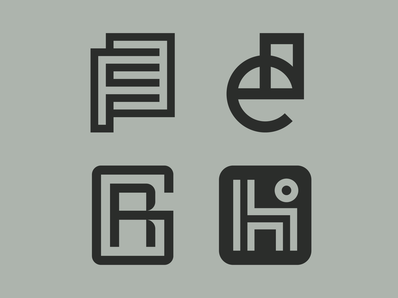 Monograms geometric logo lettering type design type logo monogram logo identity design logomark monograms lettermark monogram icon logotype branding logo