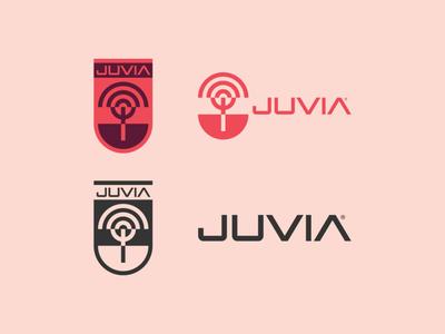 JUVIA Logo 02 tree logo tree bicycle bike thicklines bold logo identity design identity logos geometric logo geometric icon logotype branding logo