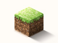 Minecraft grass block