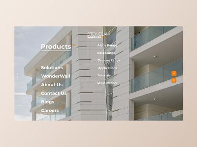 Menu Interaction product gradient minimal design clean ui ux user interface interaction animation interaction design ui inspiration ui ui design