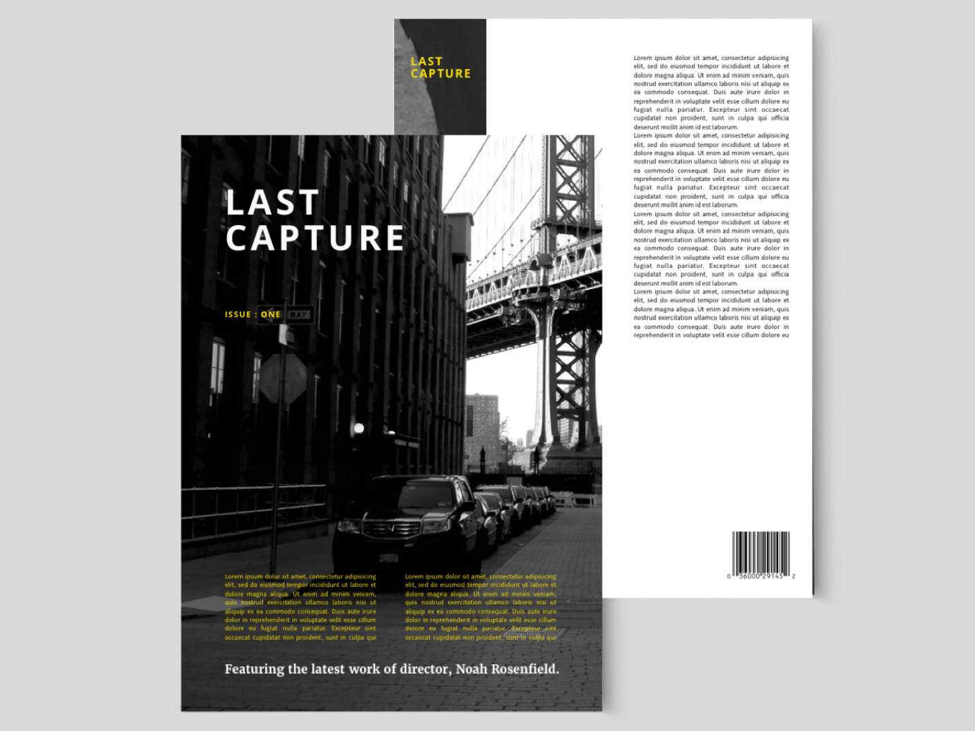 Magazine Concept editorial publication magazine
