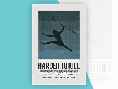 Harder to Kill Paleo Poster paleo poster