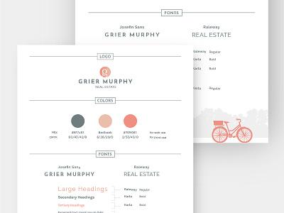 Stylesheet logo gray design peach stylesheet
