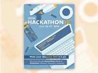 Hackathon dribbble post 2x