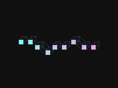Blockchain illustration cryptocurrency blockchain