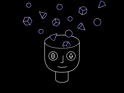 Crypto Mental Models illustration ethereum bitcoin cryptocurrency blockchain