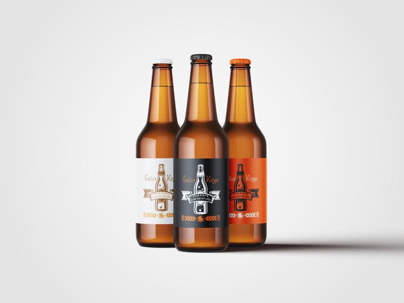 Collar Kings brand design typography vector logo flat branding illustration design